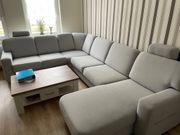 Sofa- Wohnlandschaft in U-Form