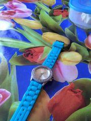 Eine Uhr, mit