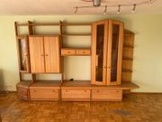Wohnzimmer Anbauwand massiv zu verschenken