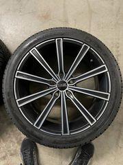 Winterkomplettradsatz OZ mit Dunlop Reifen