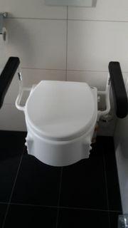 Toilettensitzerhöhung UND Duschstuhl