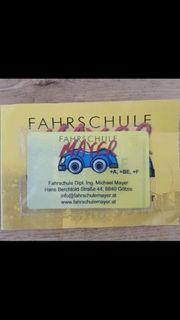 Fahrschule Online Lernkarte