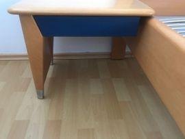 Schränke, Sonstige Schlafzimmermöbel - Hülsta Schlafzimmerbett 2 Konsolen