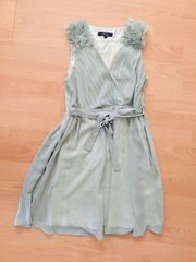 Cocktailkleid Kleid hellgrün Hochzeit Rare
