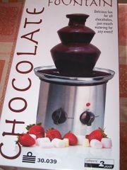Chocolate Fountain Schokoladenbrunnen