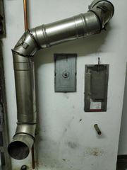 Rauchrohr Anschlussrohr Ofenrohr - Heizung Edelstahl