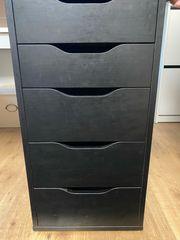 Ikea Schreibtisch mit 5-Fach Regal