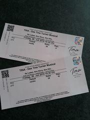 2 Karten für Musical TINA