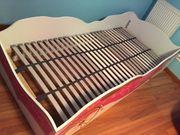 Prinzessinen Kinderbett mit hochwertigen Lattenrost