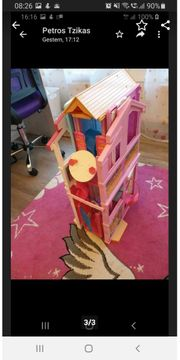 Barbie 3 Stöckiges Traumhaus