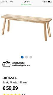 IKEA Bank WUNDERSCHÖN Holz