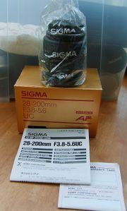 Sigma AF Macro für Pentax