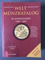 Weltmünzkatalog 20 Jahrhundert 1900 - 2007