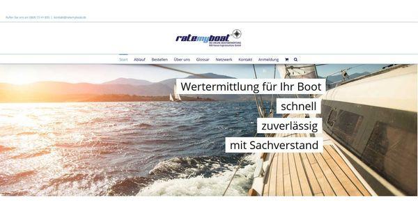 Wertermittlung Boot www ratemyboat de