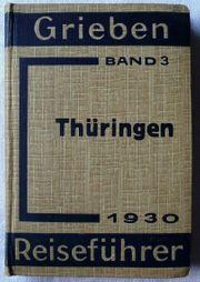 Thüringen 1930 - Band 3 der