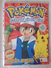 Pokemon Sticker Album
