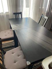 Lerhamn Ikea Tische inkl Stühle