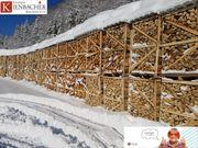 Brennholz kammergetrocknete Eiche Kaminholz Scheitholz