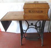 Antik Nähmaschine Kayser