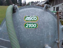 Traktoren, Landwirtschaftliche Fahrzeuge - Güllefass ASCO 2100