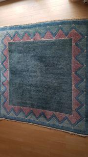 Handgeknüpfter tibetischer Teppich