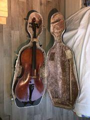 Violoncello - A E Fischer 1900