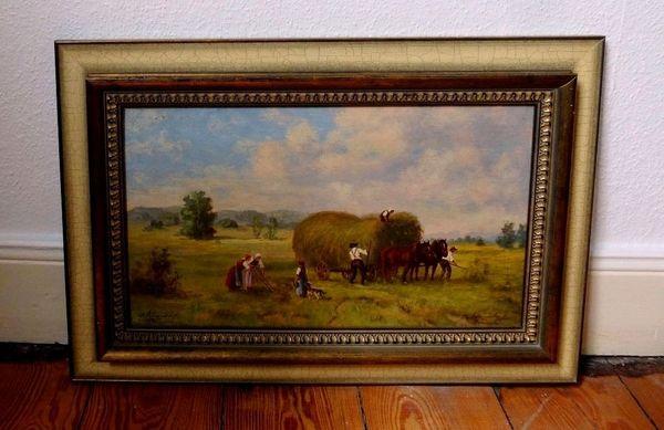 Top Gemälde Johannes Kindorf 1907 -