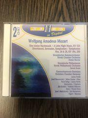 2 CDs Wolfgang Amadeus Mozart