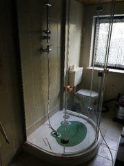 Dusche rund inkl.