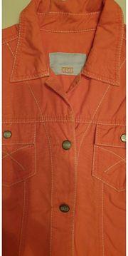 4 - Cecil Jeansjacke orange Gr