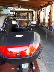 Motorrad Moped Box Neu
