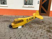 Piper J3 Rumpf mit Motor