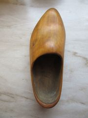 1 Original Holzschuh Holland Klompen