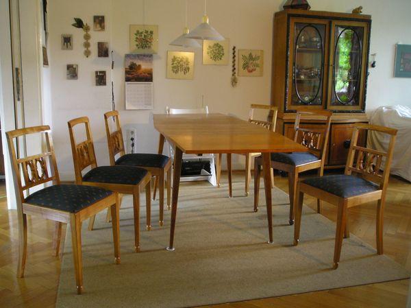 Stühle im Biedermeierstiel