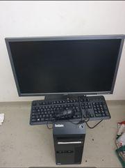 PC Set Bildschirm Tastatur Maus