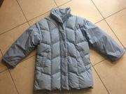 Daunenjacke Winterjacke Jacke Mantel hellblau