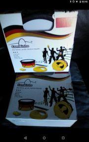 Verschiedene Musikinstrumente-kleine Sambaband-NEU OVP