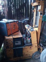 Elektro Gabelstapler ohne