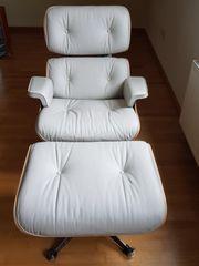 XL Vitra Lounge Chair mit