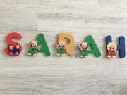 Holzbuchstaben Name SARAH