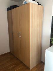 Kleiderschrank IKEA Pax Eiche 2-Türer