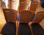 6 Stück Esstischstühle