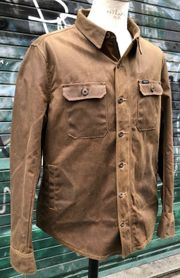 Rokker Wax Cotton Overshirt Wasserdicht