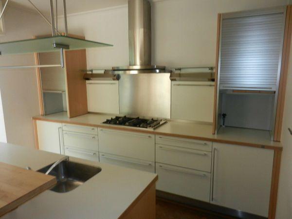 Bulthaup hochwertige Küche mit Insel System 25 weiß