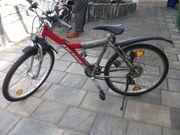 ARCADIA Streetrider Jugendfahrrad rot Mountainbike