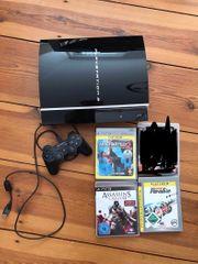 Playstation 3 80GB inkl 3