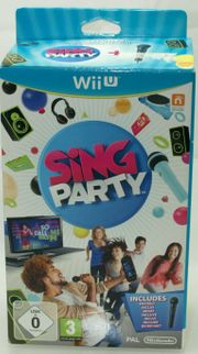 Wii U Sing Party Box