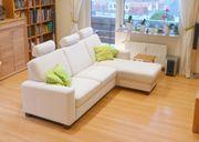 Sofa hochwertige Polstergarnitur Federkern mit