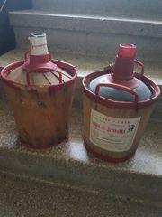 Alte Ballonflaschen