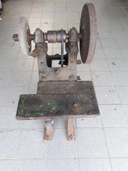 Antike Schleifmaschine